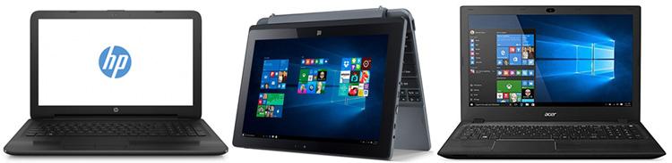 Portatiles Milar laptops