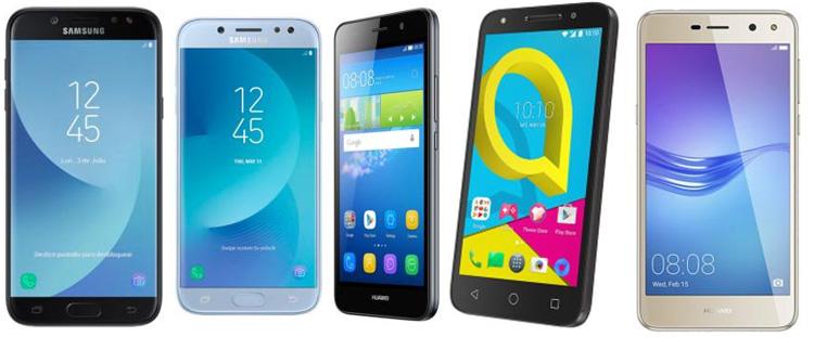Smartphones Milar moviles